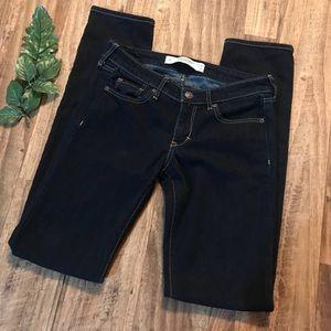 Denim - Abercrombie & Fitch Skinny Jeans Dark Wash